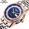 Reloj Watches Men Luxury Brand GUANQIN Automatic Mechanical Watches Waterproof Calendar Steel Men Watch Clock Relogio Masculino