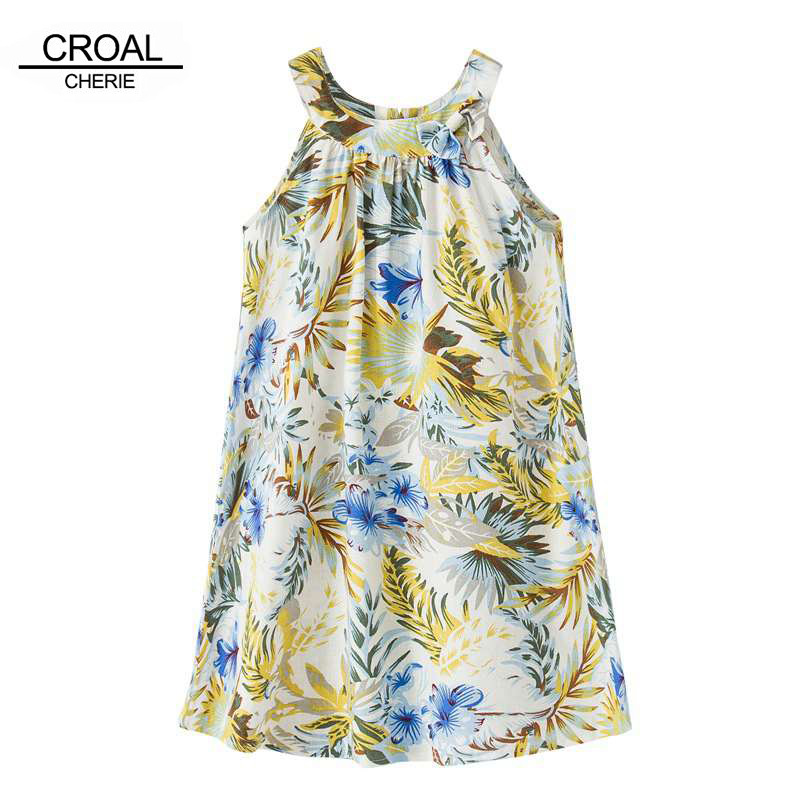 8 years old or older Fashion Summer Rainforest Girls Dresses Breathable Straight Vest Dress Linen Girls Dress Children clothing new the european ce standards pp plastic baby walkers scooters musical scooter for children 2 years of age or older