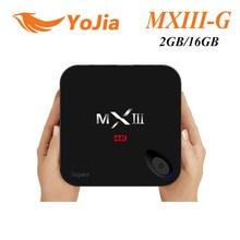 [Auténtica] MX3 MXIII G Amlogic S812 Android 5.1 MXIII-G Gigabit Lan 2G/16G 2.4G/5 GHz Dual WiFi Reproductor Multimedia KODI H.265 Set Top caja