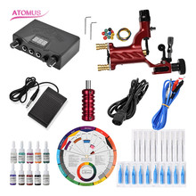 Rotary Tattoo Machine Profissional Tools Tatouage Kit Tatuajes Pen Set Kalici Makyaj Setleri Tatto