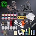 Professional Complete Tattoo Kits Set Tattoo Machine Power Supply 2 guns Immortal Color Inks Tattoo Supplies