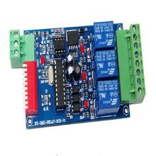 цена на hight quality 5 pcs DC12V 10A*3 channel dmx512 relays use for led lamp led strip Fast shipping Wholesale