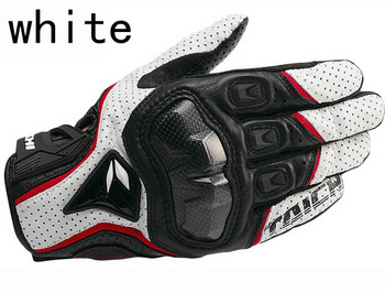 Darmowa wysyłka nowe rękawice skórzane RS 390 rękawice motocyklowe wyścigowe rękawice skórzane 3 kolor 3 rozmiar tanie i dobre opinie Mężczyźni Skóra Z pełnym palcem