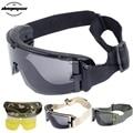 Армейские тактические очки страйкбол очки Пейнтбольные очки для стрельбы ветрозащитные военные тактические очки анти-УФ защитные очки