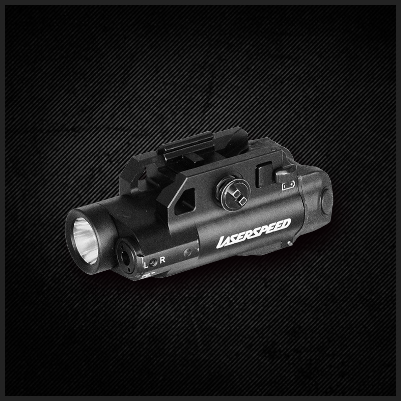 Mini-sized structure magnetic auto green laser sight with tactical flashlight abelson structure
