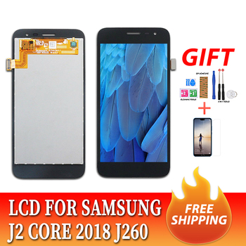 삼성 갤럭시 J2 코어 5.0 J260 J260M/DS J260F/DS J260G/DS LCD 디스플레이 + 터치 스크린 디지타이저 어셈블리 교체 용 2018 인치 LCD