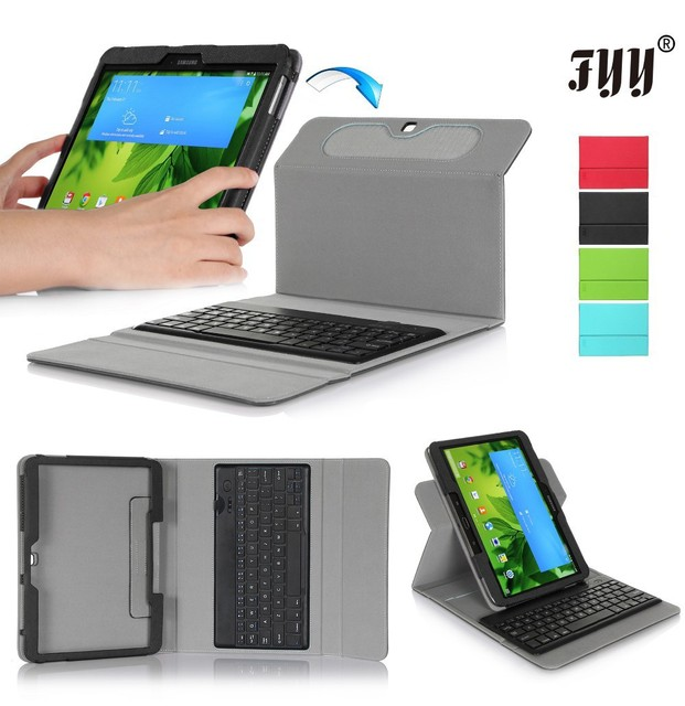 timeless design 92da0 32c34 US $35.09 |FYY New Tablet Case With Tablet Keyboard For Samsung Galaxy Tab  3 10.1 Inch 360 Rotating Protective Cover With 4 Colors 857 on ...