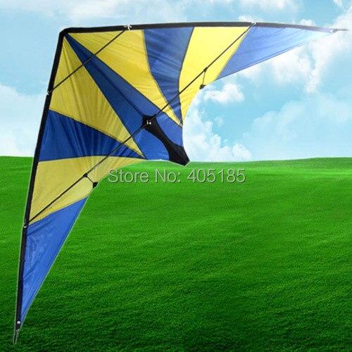 Livraison gratuite en plein air Sports amusants résine tige édition professionnelle Super foudre cascadeur puissance cerf-volant volant
