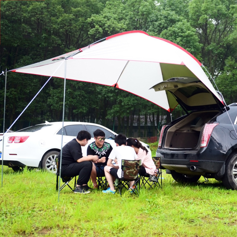 Outdoor Camping Tents Car Canopy Family Trailer Outdoor Tent for Beach Camping 3-4 persons Sunshade ZS6-2803