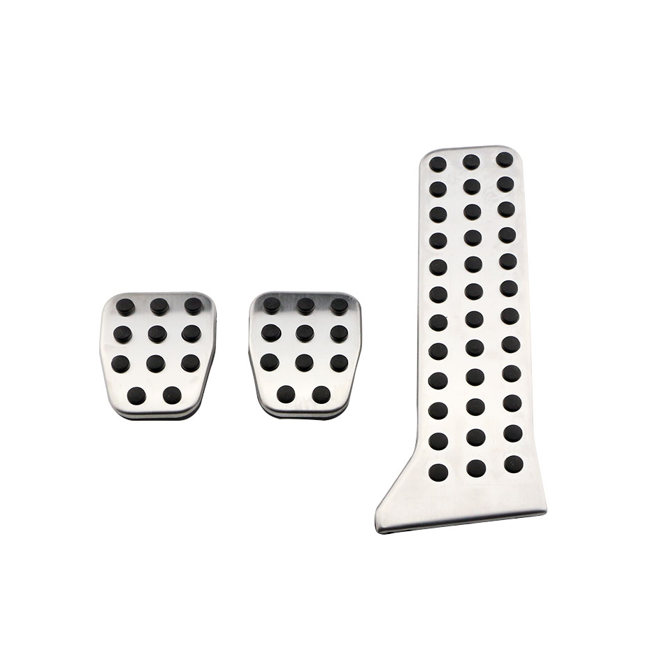 Jameo Auto Stainless Steel Car Pedal Pad MT AT Pedals Cover for <font><b>Mazda</b></font> 3 6 MK3 MK6 <font><b>2014</b></font> 2015 <font><b>CX</b></font>-<font><b>5</b></font> CX5 Axela Atenza Accessories image