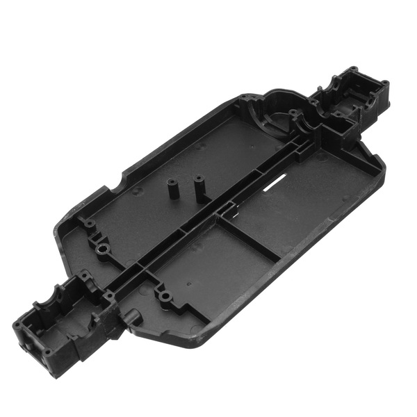 REMO P2501 Chassis Black 1/16 RC Car Parts For Truggy Buggy Short Course 1631 1651 1621