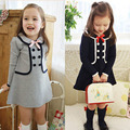 Lovely Kid Baby Slim Outwear Dress Cozy Child Girl Pullover Jacket Tops 2-7Y New ZC2