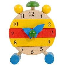 Деревянные часы ручной работы, игрушки для детей, Обучающие часы, развивающие игрушки для развития интеллекта, Inteligencia en desarrollo