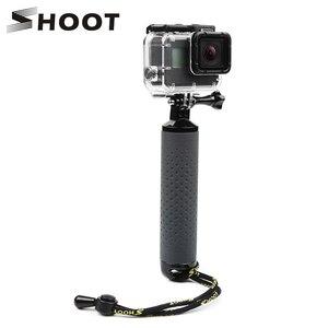 Image 1 - تبادل لاطلاق النار يده تعويم قبضة Monopod ل Gopro بطل 9 8 7 5 الأسود شاومي يي 4K Sjcam Sj4000 M10 M20 Eken الذهاب برو 8 كاميرا الملحقات