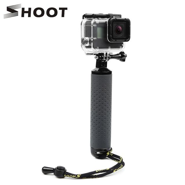 تبادل لاطلاق النار يده تعويم قبضة Monopod ل Gopro بطل 9 8 7 5 الأسود شاومي يي 4K Sjcam Sj4000 M10 M20 Eken الذهاب برو 8 كاميرا الملحقات