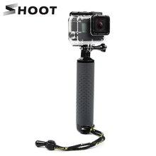 Ручной Поплавковый монопод SHOOT для Gopro Hero 9 8 7 5 Black Xiaomi Yi 4K Sjcam Sj4000 M10 M20 Eken Go Pro 8, аксессуары для камеры