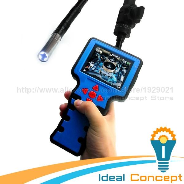 953cda4187ad5 Industrial Rotação Endoscópio Âmbito Snake Endoscópio 1 Metros 5.5mm de  Diâmetro Câmera De Inspeção De Vídeo