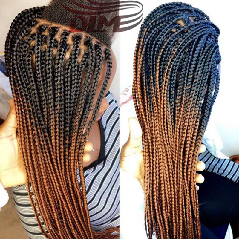 Image result for ombre box braids