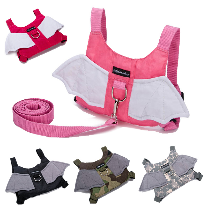 Baby Walker Harnesses & Leashes Toddlers Walking Learning Belt  Kids Anti-Lost Rope Character Bat Design Infant Adjustable Strap
