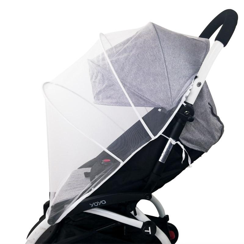 Baby Winkelwagen Klamboe Insect Shield Zuigelingen Bescherming Mesh Kinderwagen Accessoires Voor 90% Kinderwagen Kinderwagen Klamboe 3
