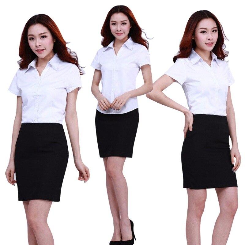 HTB19IdcJFXXXXXIaXXXq6xXFXXXa - FREE SHIPPING White Blouse Shirt Women Work Wear Long Sleeve JKP092