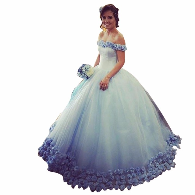 Indian Wedding Long Gowns: ZYLLGF Ball Gown Off Shoulder Bridesmaid Dress Long 2018
