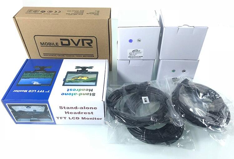 áudio e vídeo em tempo-real caminhão SD