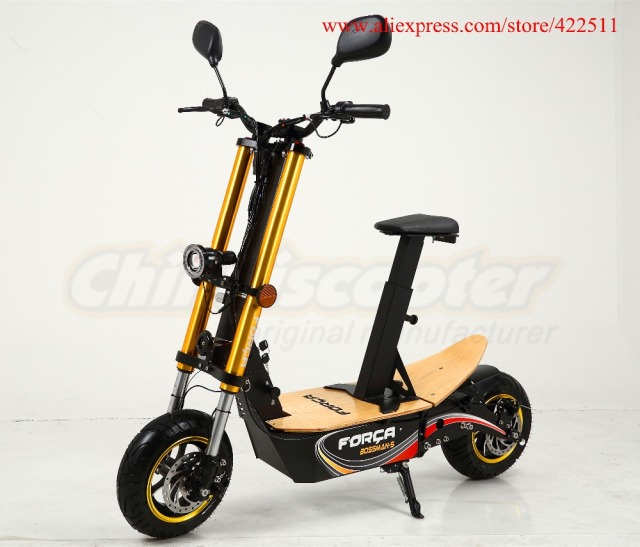 Buy 2016 new 2000w 48v adult foldable for Folding motorized scooter for adults