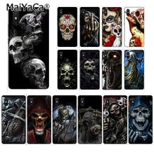 MaiYaCa Grim Reaper Skull Skeleton DIY Phone Case for Xiaomi Redmi4X 6A S2 Go Redmi 5 5Plus Note4 Note5 7 Note6Pro(China)
