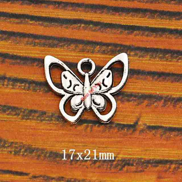 Mixed Tibetan Silver Plated Butterfly Dragonfly Charm Pendant DIY Jewelry Making