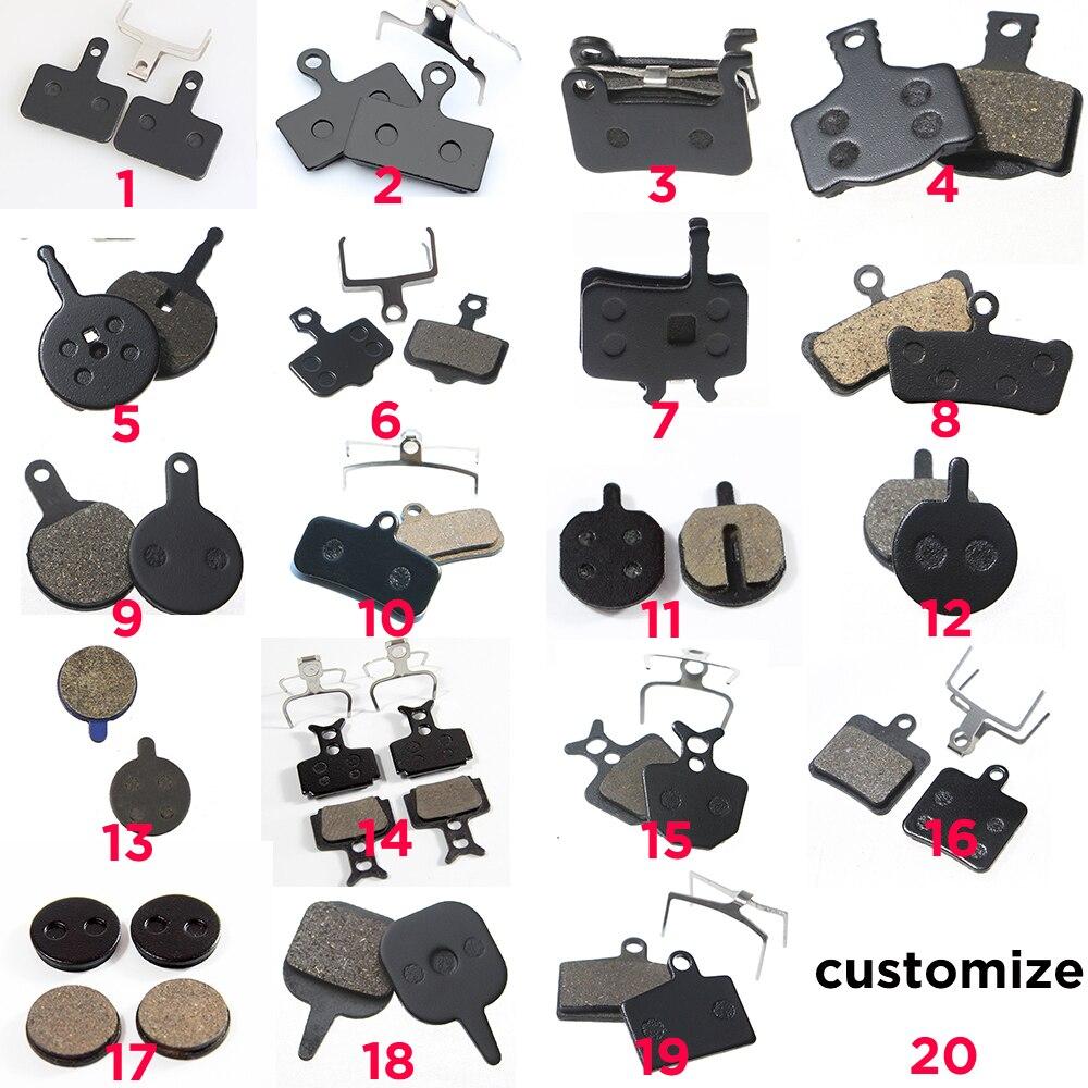 1 Pair//2pcs MTB Mountain Bike Brake Pads for Shimano M445 355 395 Bicycle Parts
