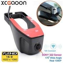 Wifi 170 degree Car DVR Registrator Video Recorder Camcorder Dash Camera 1080P Night Version Novatek 96655 use SONY 322 Sensor