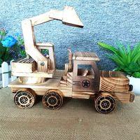 Home Woody Decoration Creative Design Crafts Lizun Hand Spinner Miniaturas Fairy Garden Dolls