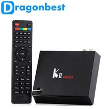 KII pro Android 5.1.1 TV Box Construit en 2.4G et 5G WiFi Bluetooth 4.0 RAM DDRIII 2 GB ROM Flash 16 GB SET TOP BOX TVB/TVB-T2/TVB-S2