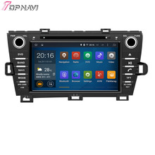 Top  Quad Core Android 5.1 Car DVD For TOYOTA PRIUS Left Driving  2009- With Wifi BT GPS Map 16 GB Flash
