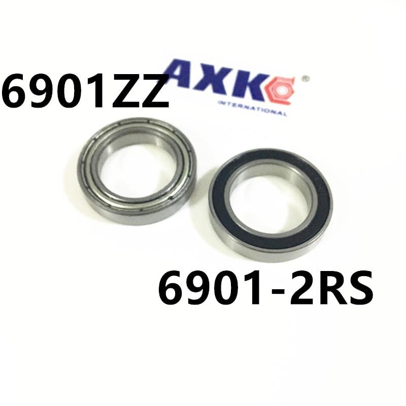 6901ZZ Bearing ABEC-1 12x24x6 mm Metric Thin Section 6901 ZZ Ball Bearings 6901ZZ 6901-2RS 61901 12*24*6 mm best price 10 pcs 6901 2rs deep groove ball bearing bearing steel 12x24x6 mm