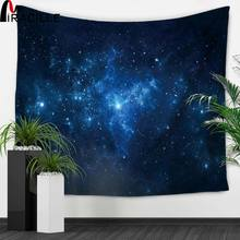 Miracille Star Galaxy Rectangle Tapestry Wall Art Hanging Beach Towel Yoga Mat Picnic Blanket Throw Rug Wall Carpet Polyester janeyu new cosmos star velvet multifunctional polyester tapestry hanging beach towel