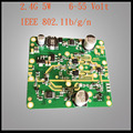 2.4 G 5 W entrada de tensão de largura Wireless Wifi Signal Booster Repeater amplificadores frete grátis