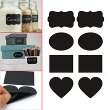 Smart 96x Small Chalkboard Chalk Black Board Mason Candy Jar Labels Stickers Tag+1 Big White Liquid Chalk Marker