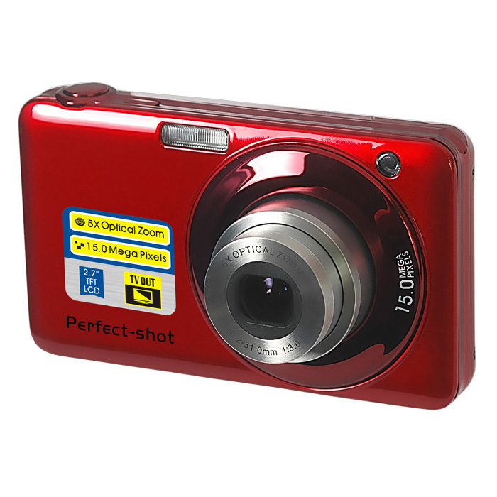 15 mega pixels optical digital video camera with 27 tft display4x digital zoom with 4gb card mini video camera free shipping