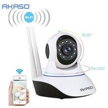 Akaso Беспроводная ip-камера 720 P Wi-Fi камеры видеонаблюдения наблюдения ONVIF радионяня для Wi-Fi аварийная система