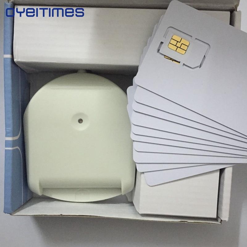 OYEITIMES 4G LTE SIM lecteur de carte graveur programmeur avec 5 pièces LTE Test carte SIM 1 PC carte SIM logiciel XOR Milenage livraison gratuite