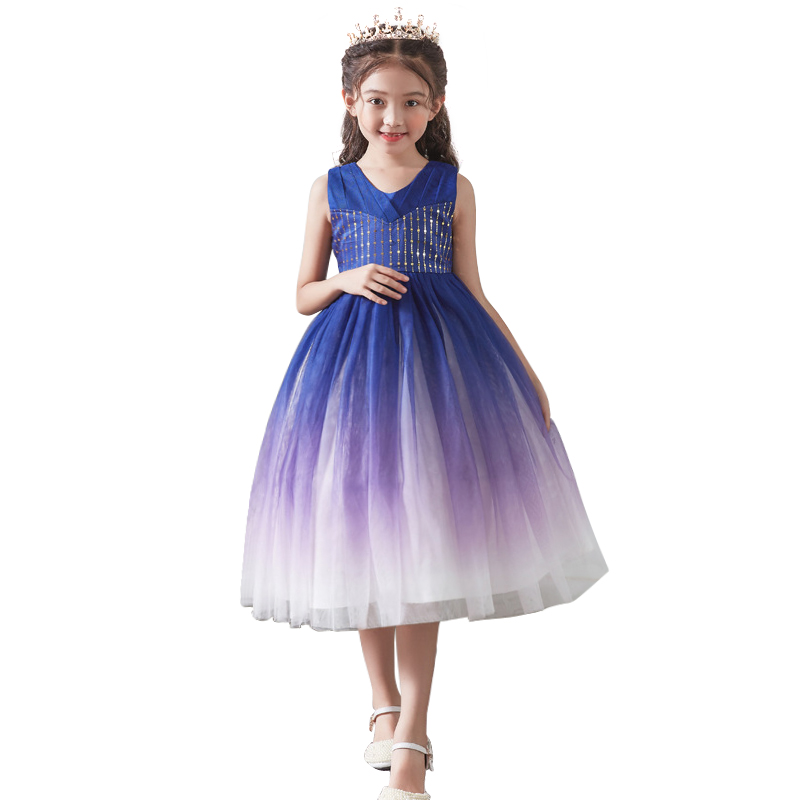 Christmas Princess 2019 shine sequin christmas princess costume age for 3 10 yrs baby