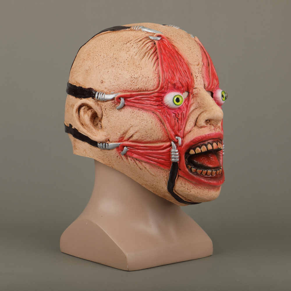 Halloween Masks Latex Party Horrible Scary Prank Cankered Skin Horror Mask Fancy Dress Cosplay Costume Mask Masquerade (8)