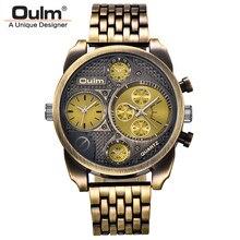 Черное золото индивидуальность большие часы человек Элитный бренд кварцевые наручные Montres мужчины полный Сталь часы Militar часы мужской Montre Homme
