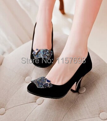 Zapatos Tacon Pequeño