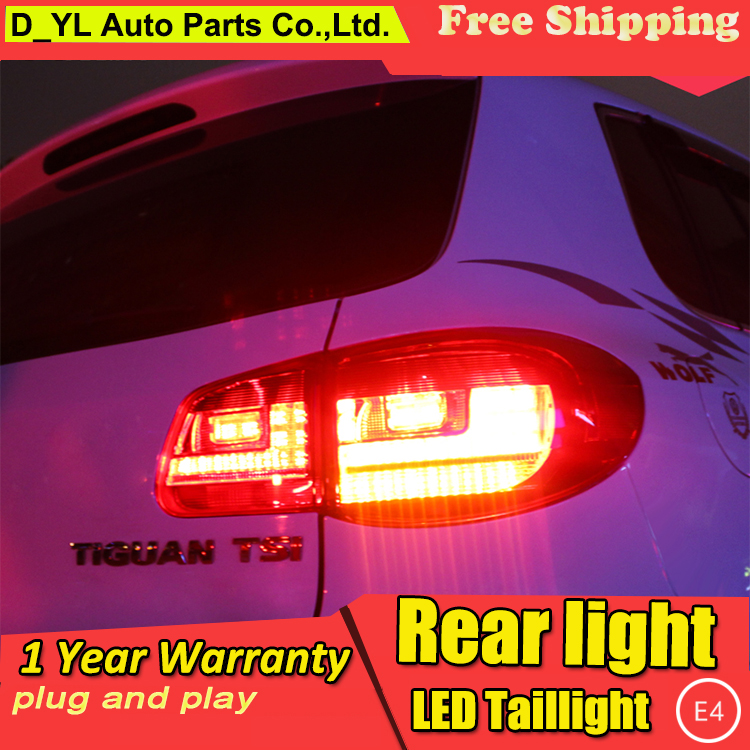 Car Styling Tail Lamp For Vw Tiguan Tail Lights 2009 2012