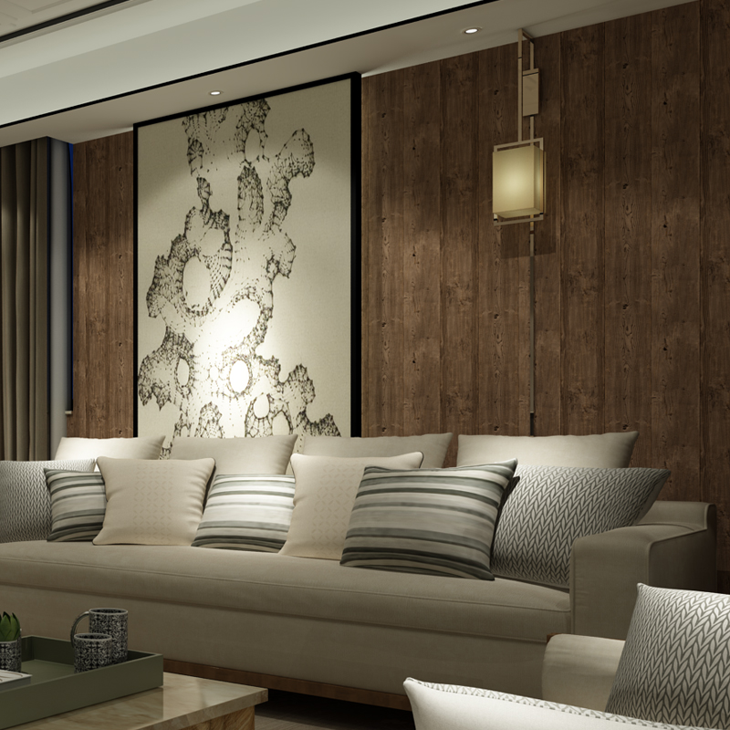 ... Vintage Imitation Wood Flooring Pattern Wallpaper For PVC Vinyl  Waterproof Bedroom Living Room Wall Covering Wallpaper ... Part 72