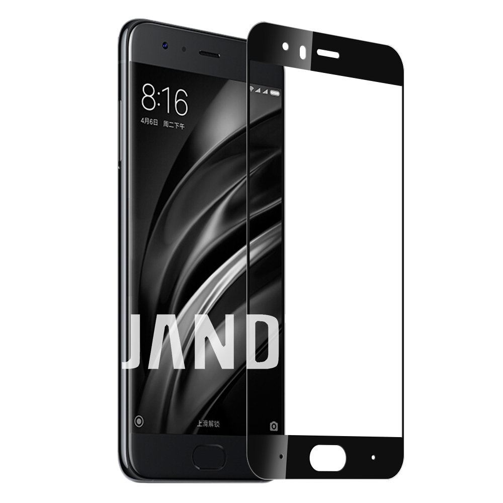 for xiaomi MI 6 screen protector tempered glass full cover case friendly bubble free accessaries