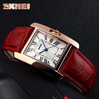 d8d0b77ba8ca Reloj mujeres elegante Retro Relojes moda casual marca de lujo de las mujeres  reloj de cuarzo de cuero mujer señora señoras reloj de pulsera Relojes